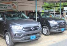 Nieuwe SsangYong Musso dienstauto's voor dc's Nerkust en Jurel