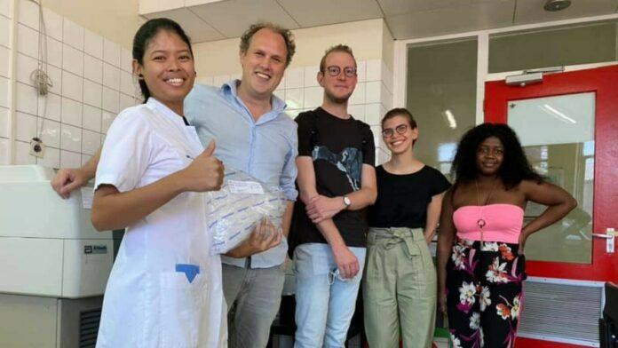 Nederlandse medische experts aangekomen in Suriname