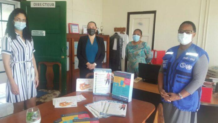 PAHO doneert aan Volksgezondheid, Onderwijs en Sociale Zaken