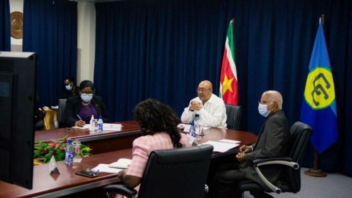 President Bouterse participeert aan CARICOM staatshoofden conferentie