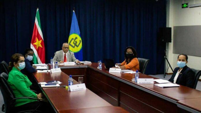 Ramdin voorzitter Cariforum tot juni 2021