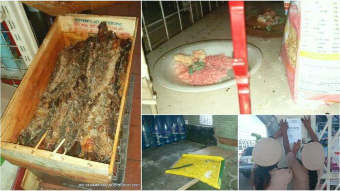 Twee onhygiënische winkels in ressort Centrum gesloten
