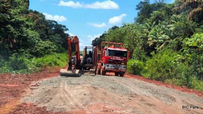Weggedeelte Matta-Bigi Poika voorlopig afgesloten voor vrachtverkeer