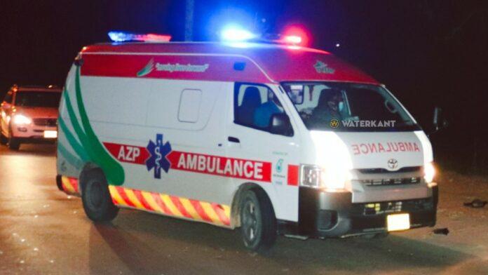 ambulance-suriname-op-plaats-delict