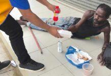 Lions Club Wanica verzorgt maaltijden voor tehuizen en dak- en thuislozen