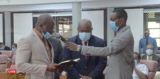 Marinus Bee nieuwe voorzitter parlement Suriname