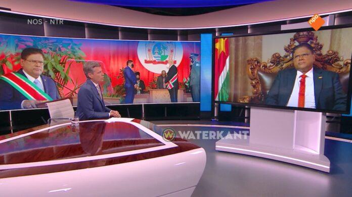 Santokhi pleit voor volwassen handelsrelatie tussen Suriname en Nederland