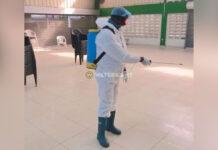 NPS partijgebouw 'Grun Dyari' ontsmet na corona besmettingen