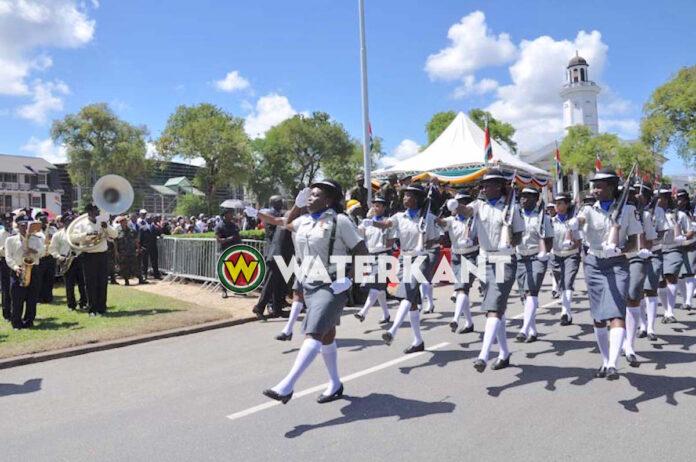 Wegafsluiting bij Onafhankelijkheidsplein vanwege inauguratie en parade