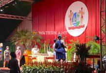 VIDEO: Onafhankelijkheidsplein klaar voor inauguratie nieuwe president van Suriname