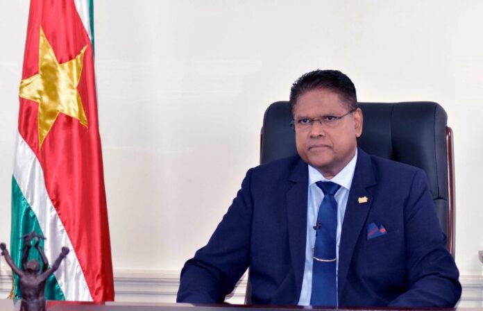 President Santokhi kondigt strengere corona maatregelen aan