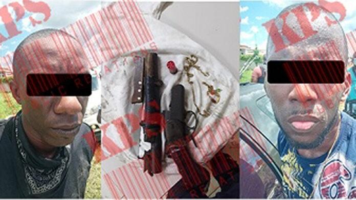 Met jachtgeweer gewapende straatrovers na achtervolging aangehouden