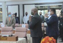 Suriname heeft een nieuwe president en vice-president