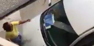 Filmpje van vrouw die 'directeur van belasting' betrapt op vreemdgaan gaat viraal
