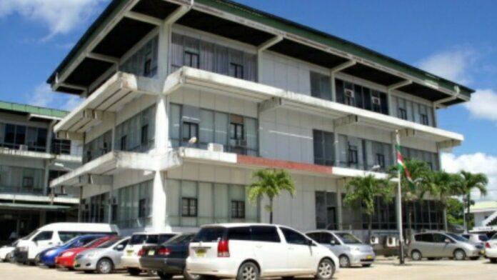Belastingdienst van Sommelsdijckstraat Suriname