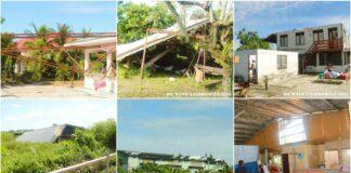 Bijkans 20 woningen in Saramaccapolder getroffen door hevige rukwinden