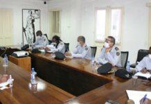Juspol-minister maakt kennis met leiding KPA