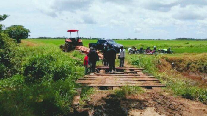 LVV Nickerie gestart met aanpak natte en droge infrastructuur