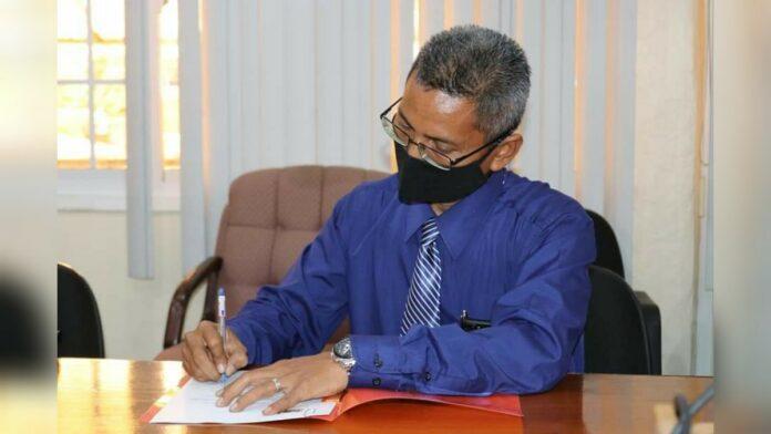 Nasier Eskak nieuwe directeur Binnenlandse Zaken