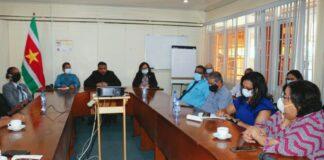 Onafhankelijk Kiesbureau bezoekt Biza-minister