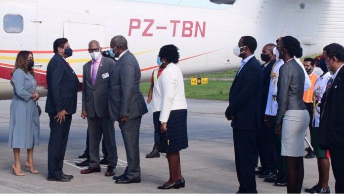 President Santokhi benadrukt verbondenheid Suriname-Guyana