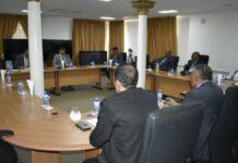 President Santokhi voert overleg met bedrijfsleven organisaties