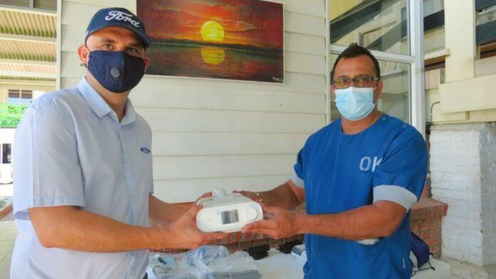 SEMC schenkt 2 beademingsapparaten aan 's Lands Hospitaal