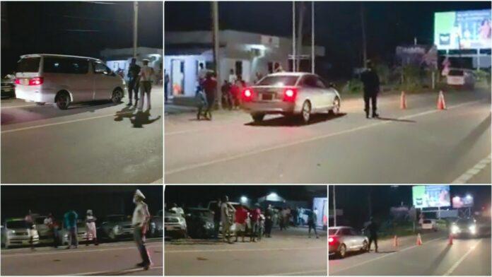 Tientallen autobestuurders staande gehouden bij controlepost Wijdenboschbrug