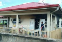 Woning in brand gestoken; dader aangehouden