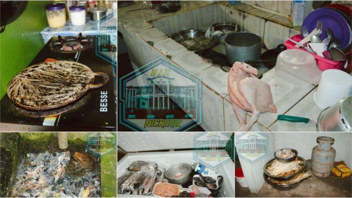 Zeer onhygiënische keuken in Nickerie per direct gesloten