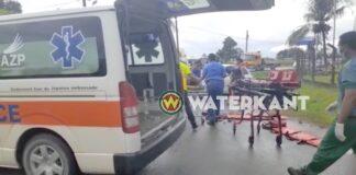 1 dode en 4 gewonden bij zware aanrijding in Suriname