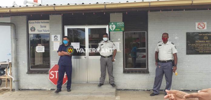 VIDEO: Politieman van bureau Nieuw-Nickerie besmet met coronavirus