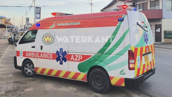 Ambulance in Suriname