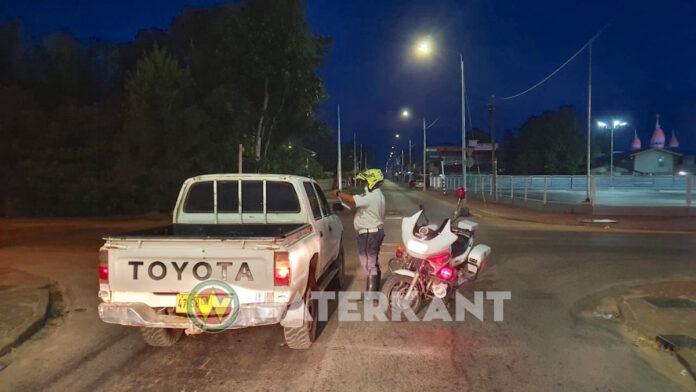 216 overtreders van total lockdown afgelopen weekend aangehouden