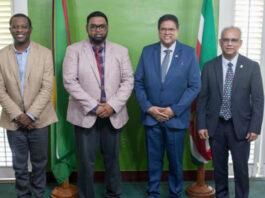 President laat zich testen op COVID-19 na contact met besmette Guyanese minister
