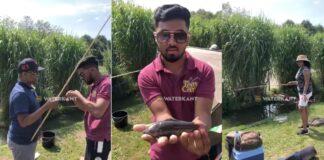 VIDEO: 'Voor het eerst in Nederland op Surinaamse Kwie Kwie vissen'