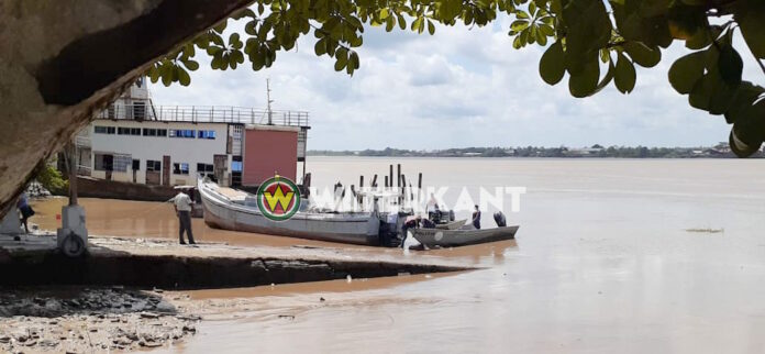 Lijk opgevist door maritieme politie Suriname
