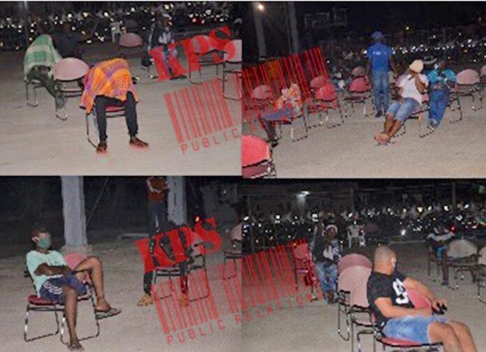 Surinaamse politie deelt beelden van opgepakte 'lockdown' ovetreders