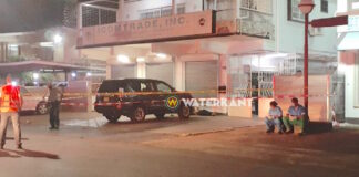 Man doodgeschoten bij winkelpand in Paramaribo