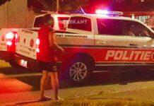 politie-eenheden-suriname-in-actie-bij-geval