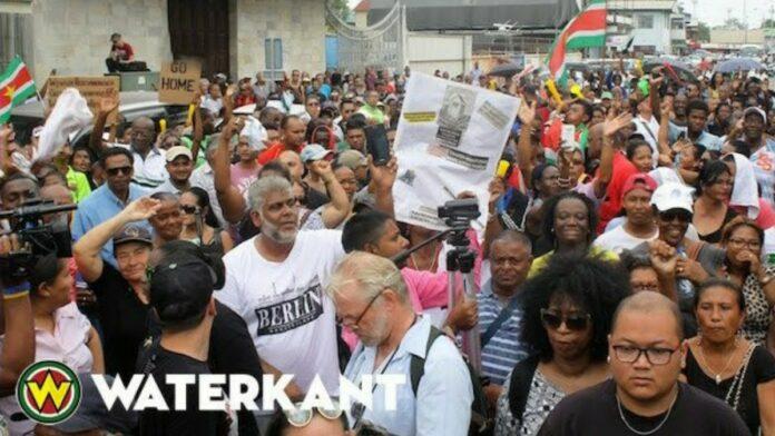protestactie-suriname