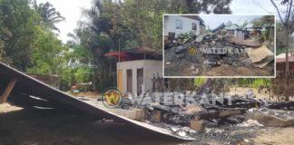 Twee woningen te Bernharddorp afgebrand
