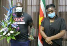 Bigi Boy brengt bezoek aan minister Emanuël en bespreekt toekomstige samenwerkingen