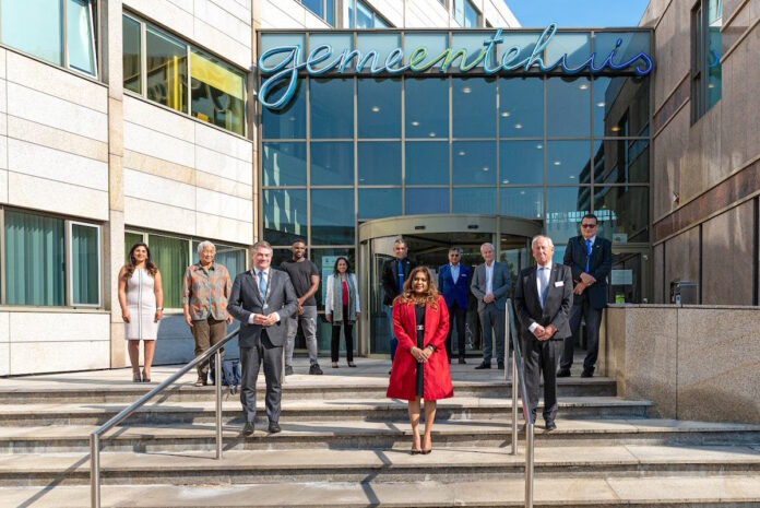 First lady kijkt uit naar uitbreiding samenwerking met Nederland