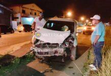 Haastigheid bestuurder zorgt voor aanrijding met flinke schade