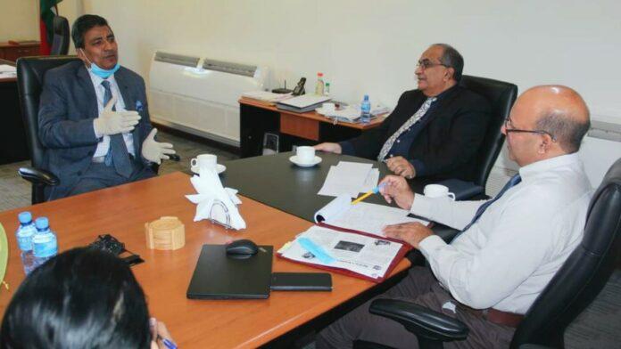 Indiase Ambassadeur brengt kennismakingsbezoek aan LVV-minister