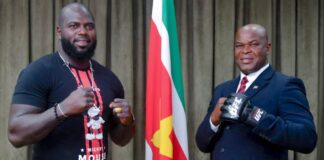Bigi B. meets Bigi B. na vergadering ministers