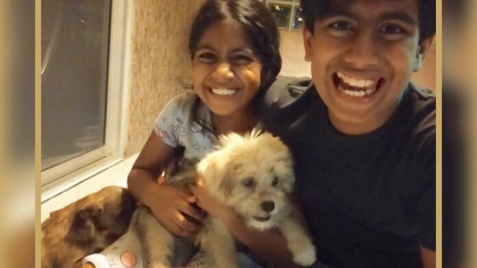 Gestolen hondje terug, kinderen super blij