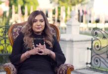 First lady Melissa Santokhi in Nederland, brengt bezoek aan Diemen