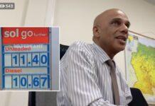 VIDEO: Minister in gesprek met kritische burgers over verhoging brandstofprijs